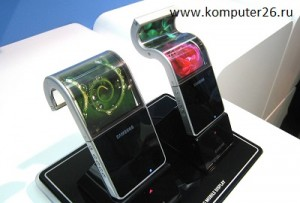 Гнущийся экран Samsung
