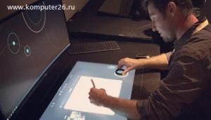 Компания Dell демонстрирует компьютер с двумя экранами